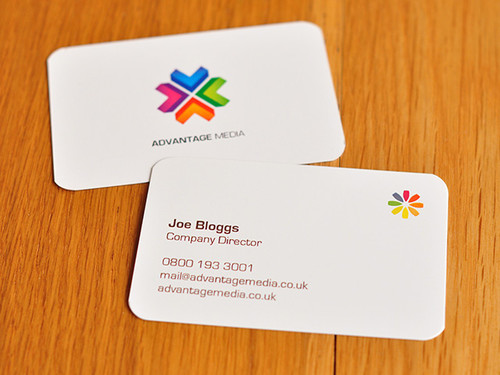 Rounded business cards advantage media rounded business cards reheart Choice Image